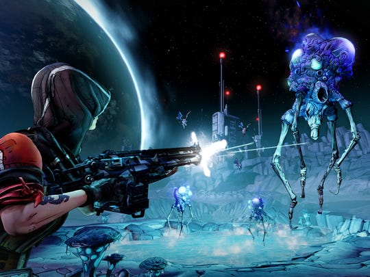 """Borderlands: The Pre-Sequel"" tries to mix things up by adding low-gravity sequences."