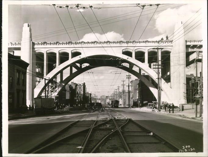 NOV. 2, 1931: Western Hills Viaduct.