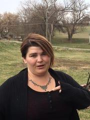 Tina Polly describes a struggle Logan and her husband