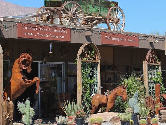 Find antiques from the Southwest, Mexico, Africa and Asia at the Trading Post