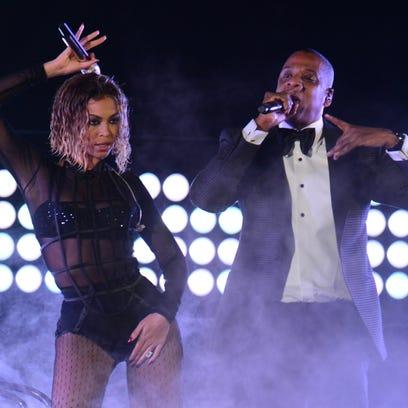 Beyoncé, Jay-Z bringing their act to Columbia