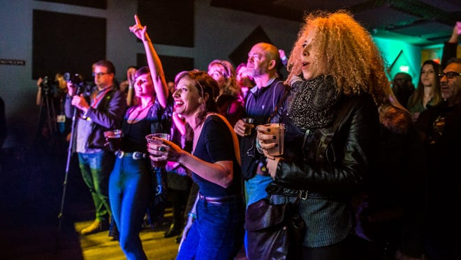 Music fans attend the 2017 edition of Tonic Ball at the Hi-Fi.