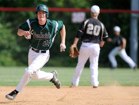 Parkside's Matt Smith see playing time in the outfield