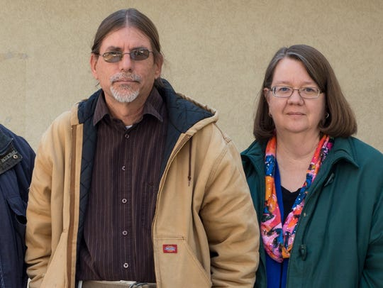 Brice Stump, Todd Dudek and Cindy Robinson are the