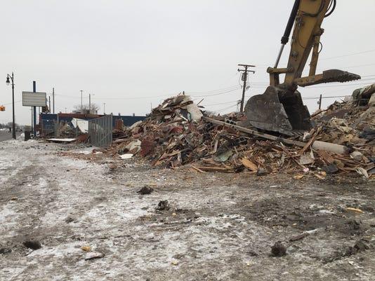 Victory Inn demolished
