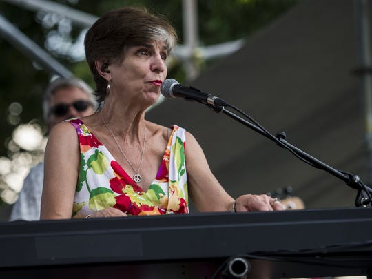 Blues pianist Marcia Ball is part of the statewide tribute to the late songwriter David Egan.