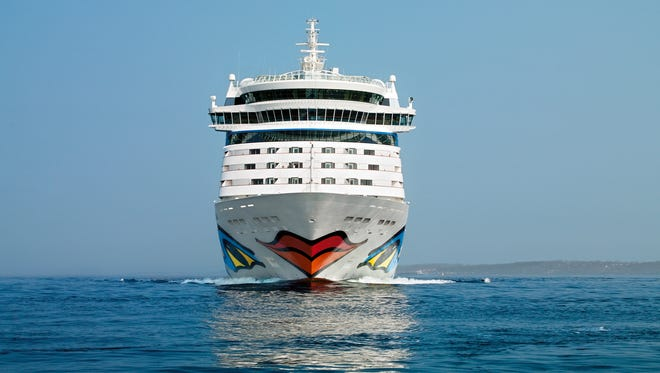Other Aida ships with the giant, colorful lips include AIDAbella, which debuted in 2008. On some Aida ships, the lips take up more than 1,600 square feet of space.