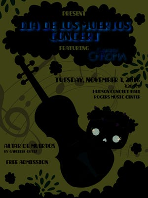 Connect with culture at the Dia de los Muertos concert 7:30 p.m. Tuesday, Nov. 1, in Hudson Hall.