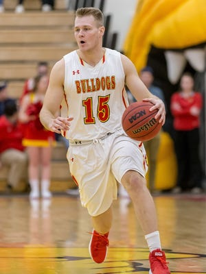 Canton grad Greg Williams came off the bench for NCAA Division II champ Ferris State.