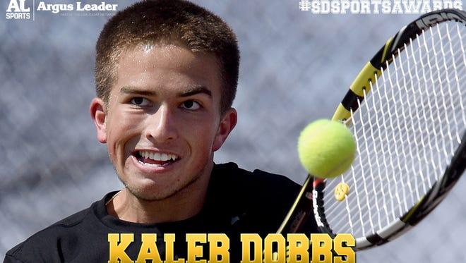 Boys tennis: Kaleb Dobbs, Lincoln