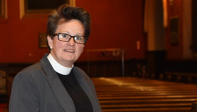The Rev. Susan Fortunato of Christ Episcopal Church in the City of Poughkeepsie.