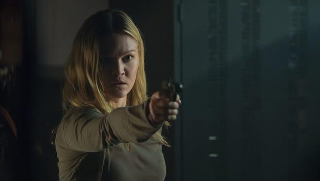 "Julia Stiles stars in ""Jason Bourne."""