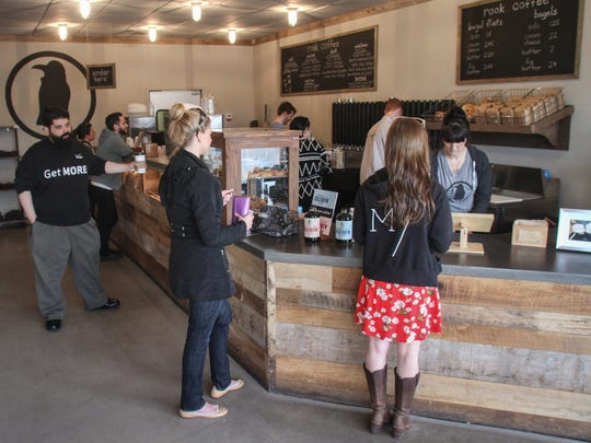 A look inside Rook Coffee's location on Route 35 in Ocean Township.