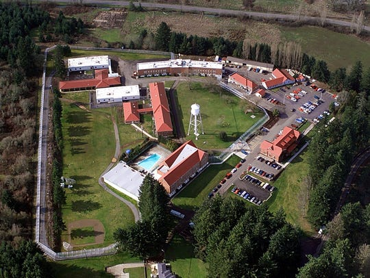 Hillcrest Youth Correctional Facility, photographed in 1999.