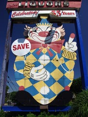 "Calico, the so-called ""evil clown"" of Middletown."