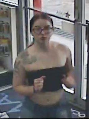 Authorities are looking for a woman and two men in connection with an armed robbery of a convenience store in eastern Travis County on June 9.