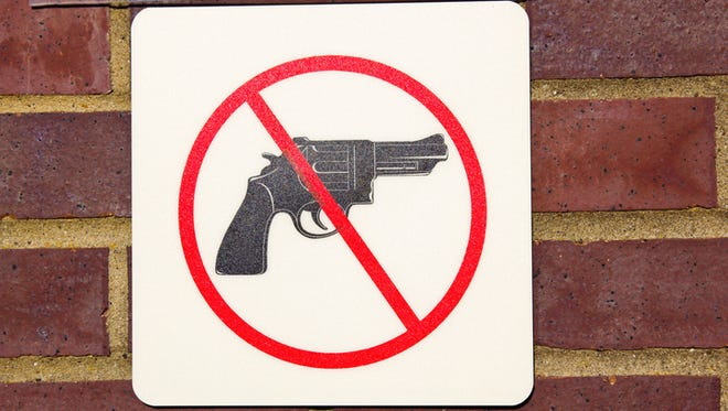 Gun-free zone.