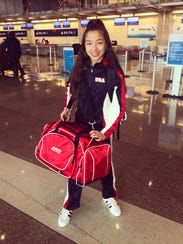 Off to Poland – 12-year-old Newburgh resident Olivia