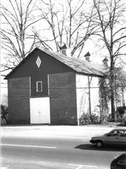 The Clemson College Sheep Barn, shown in a photo from the National Register of Historic Places, has been renovated to host late-night student programming.