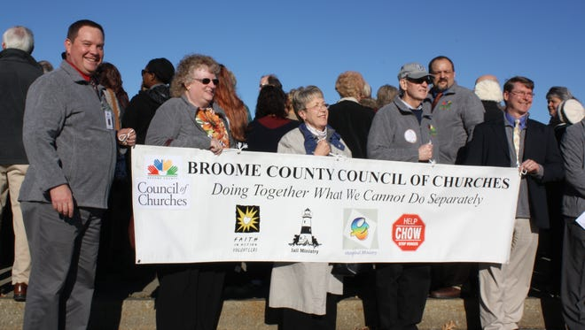 The Broome County Council of Churches celebrated its 75th anniversary on Sunday.