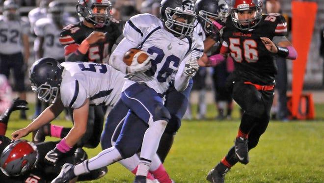 St. Augustine sophomore Kyle Dobbins has enjoyed a sensational season.
