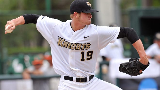 Ben Lively pitched collegiately at UCF.
