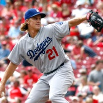 Reds-Dodgers series finale