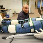 Manoj Bhargava, CRO of Renew, Clear Sky Energy & Water and 5-hour Energy, is photographed at the Renew Research Center in Farmington Hills on Wednesday, Sept. 21, 2016.