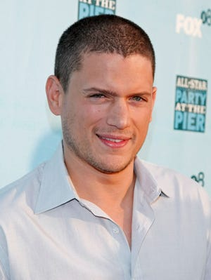 Actor Wentworth Miller was the star of TV show 'Prison Break.'