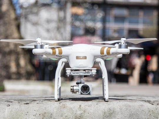 DJI Phantom 3 Drone.
