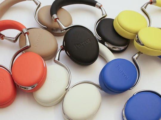 Parrot Zik ($399) headphones hit all the right notes.
