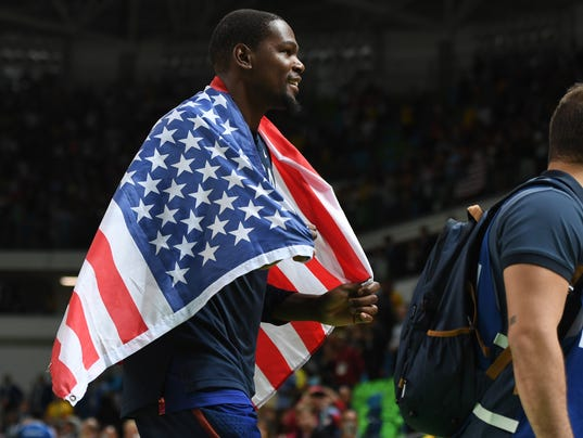 Olympics: Basketball-Men's Team-Final -SRB vs USA
