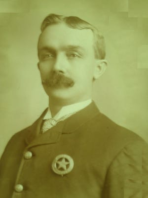Patrolman Henry Vogelsong fought a cockroach infestation in City Hall on Aug. 28, 1913. Years later – on Oct. 11, 1916 - he helped President Woodrow Wilson save a Richmond man's life at the depot.