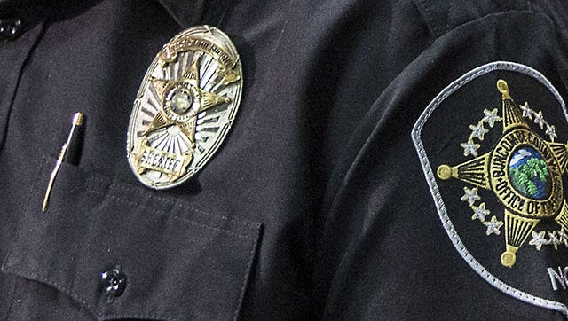 Buncombe County Sheriff's Officer badge