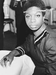 Jazz singer Nina Simone in London on Dec. 5, 1968.