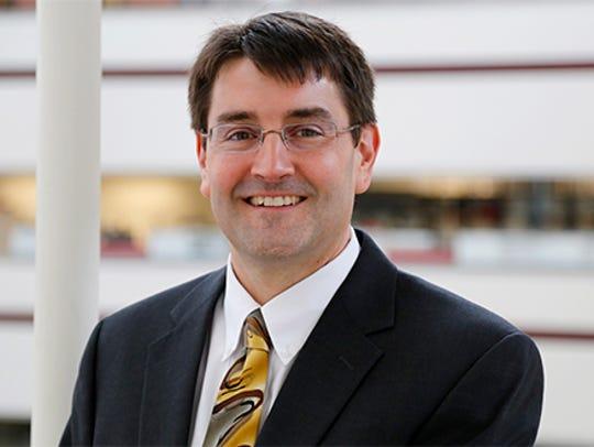 Cedar Rapids Community School Superintendent Brad Buck