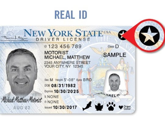 A Real ID is one of two types of driver's licenses