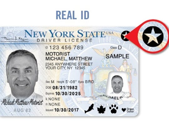 A Real ID is one of two types of driver's licenses that will allow New Yorkers to board domestic flights starting in 2020.