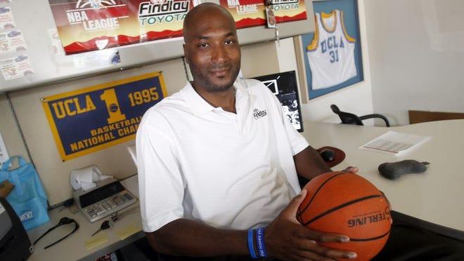Former UCLA basketball player Ed O'Bannon