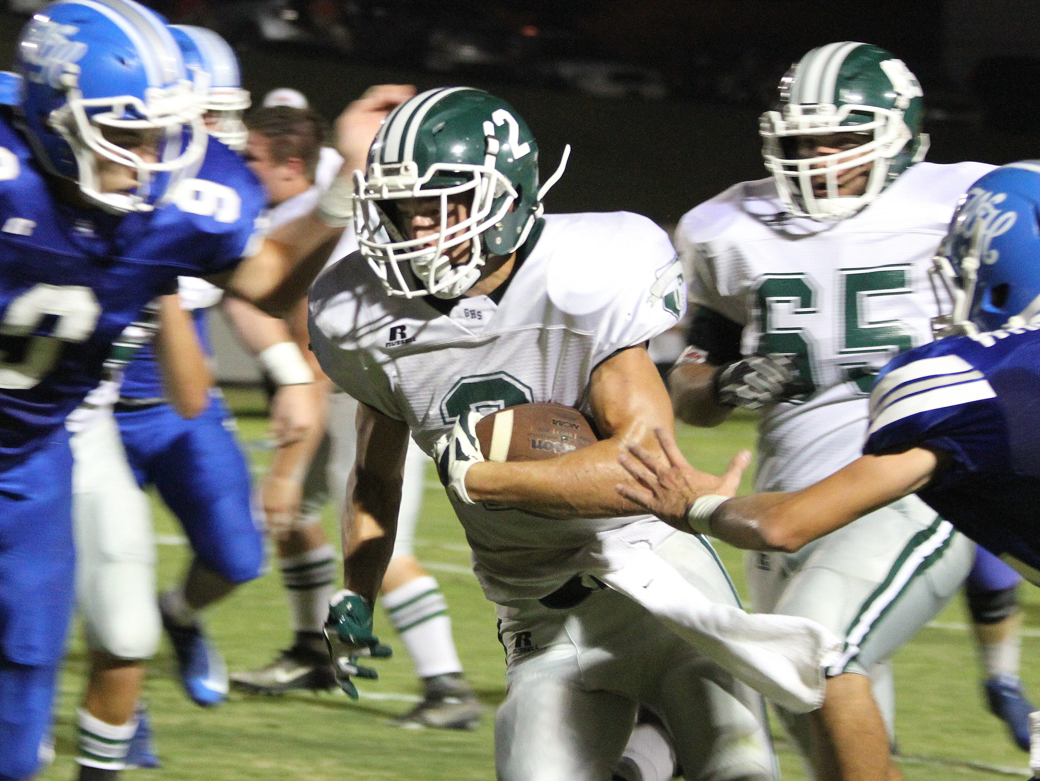 The Greenbrier Bobcats defeated the White House Blue Devils in their Friday contest.