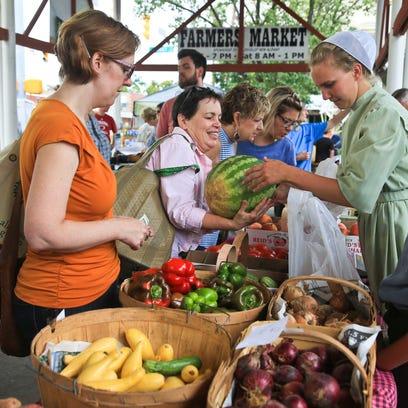 24 local farmers markets in the Louisville area