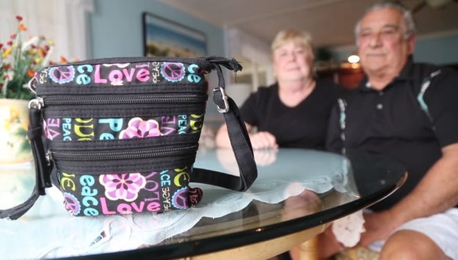 Margaret and Francis Humanick stopped for a bite at a Fort Pierce restaurant, but she left her purse behind when they left.