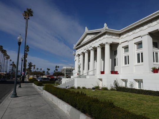 The Carnegie Art Museum in downtown Oxnard