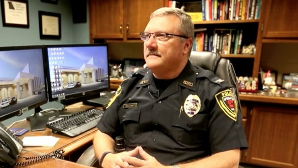 Springfield Police Chief Paul Williams