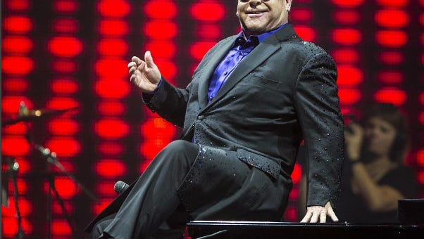"""The """"Rocket Man,"""" Elton John, will perform his many classic and iconic songs at 8 p.m. March 23 at the Don Haskins Center on the University of Texas at El Paso campus."""