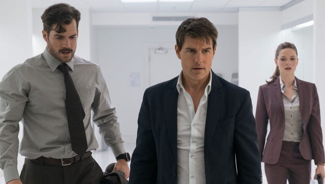 """Tom Cruise starred with Henry Cavill and Rebecca Ferguson in """"Mission: Impossible - Fallout."""""""