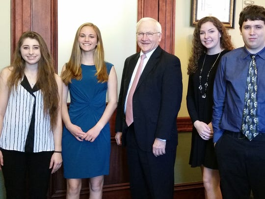 Members of the Chesapeake Bay Foundation's Student