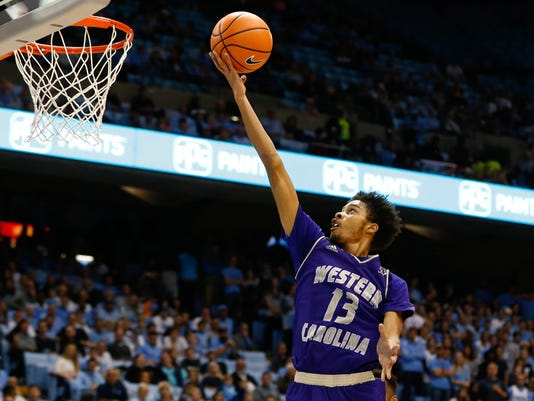 NCAA Basketball: Western Carolina at North Carolina