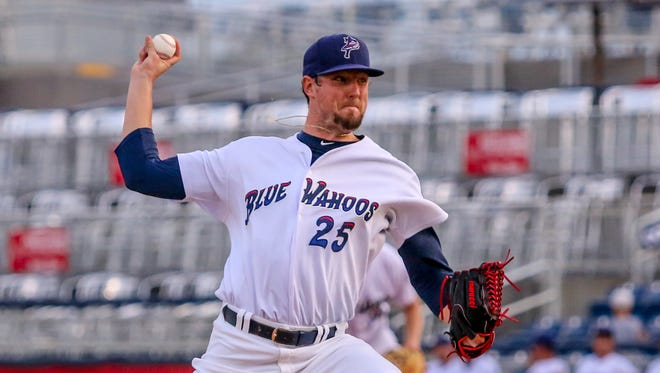 Deck McGuire, who has been one of the team's top pitchers all season, has been named the Game 1 starter Wednesday when the Blue Wahoos face Jacksonville in the Southern League South Division playoffs.
