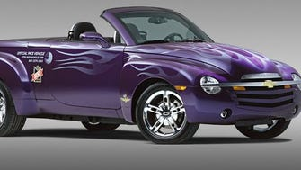 The Chevrolet SSR wasn't even a pace car. More like a pace truck. And it's ugly